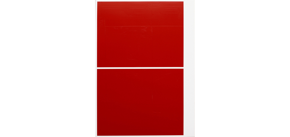 Nº 3. Front. 10 November Painting. Red Orange Granza