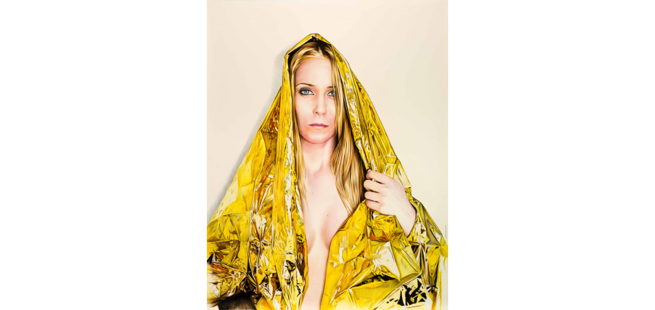 Madonna Raquel of the Emergency Blanket