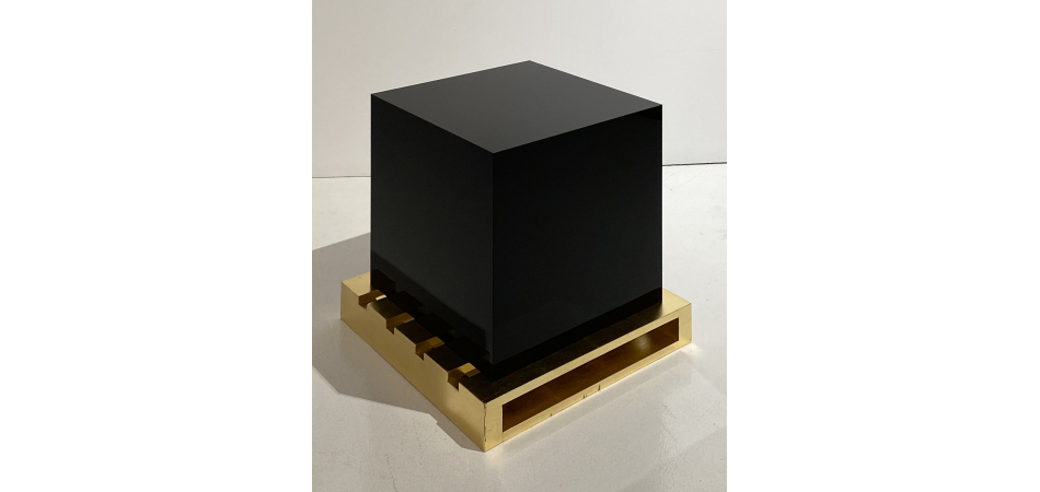 Untitled (cube and stowage)